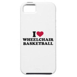 I love wheelchair basketball iPhone SE/5/5s case
