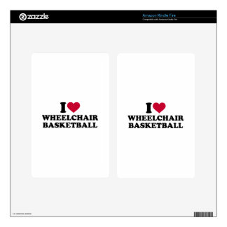 I love wheelchair basketball kindle fire decal