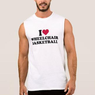 I love wheelchair basketball sleeveless shirt