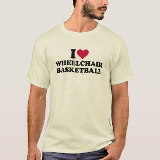 I love wheelchair basketball T-Shirt