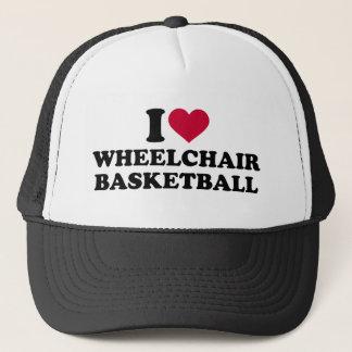 I love wheelchair basketball trucker hat