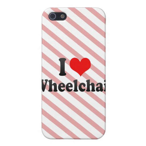 I love Wheelchair Cases For iPhone 5