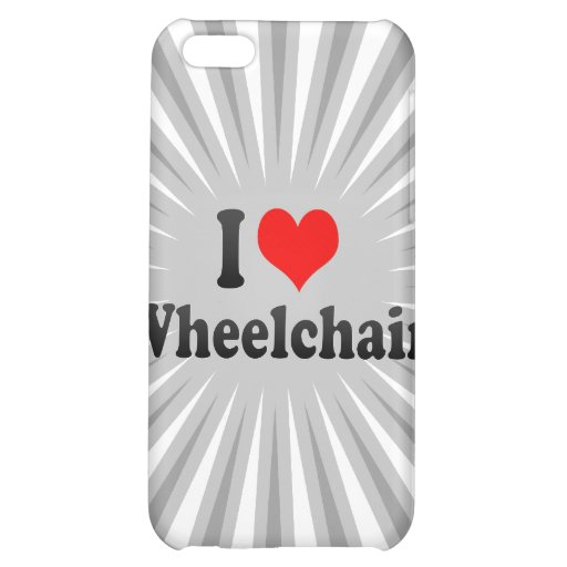 I love Wheelchair Case For iPhone 5C
