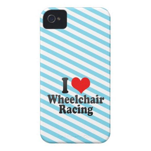 I love Wheelchair Racing Blackberry Bold Case