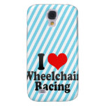 I love Wheelchair Racing Galaxy S4 Covers