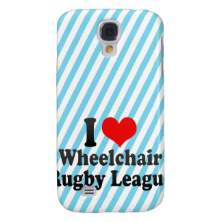 I love Wheelchair Rugby League Samsung Galaxy S4 Case