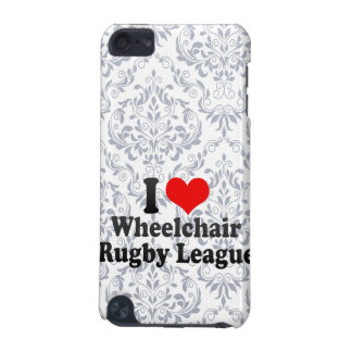 I love Wheelchair Rugby League iPod Touch (5th Generation) Cases