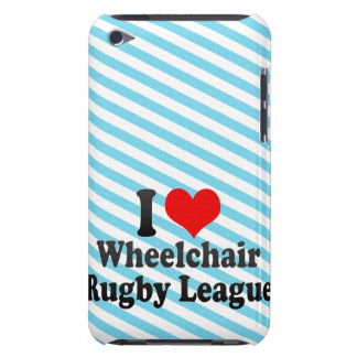 I love Wheelchair Rugby League Case-Mate iPod Touch Case