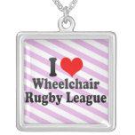 I love Wheelchair Rugby League Custom Jewelry