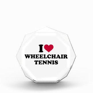 I love wheelchair tennis acrylic award