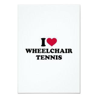 I love wheelchair tennis card