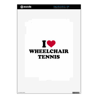 I love wheelchair tennis decals for iPad 2