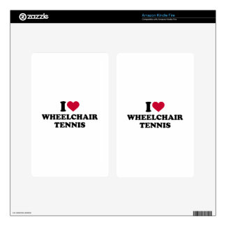 I love wheelchair tennis decals for kindle fire