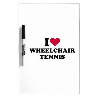 I love wheelchair tennis Dry-Erase board