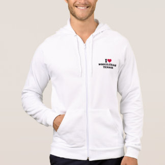 I love wheelchair tennis hoodie