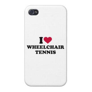 I love wheelchair tennis iPhone 4/4S cover