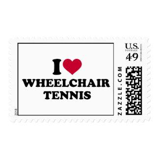 I love wheelchair tennis postage