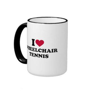 I love wheelchair tennis ringer mug