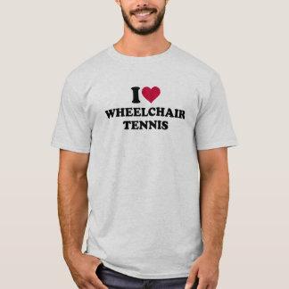I love wheelchair tennis T-Shirt