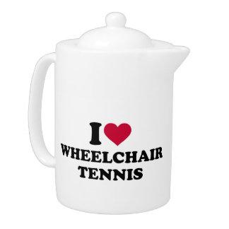 I love wheelchair tennis teapot