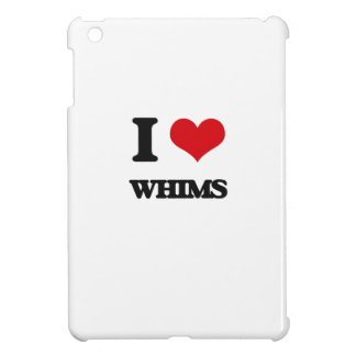 I love Whims Cover For The iPad Mini