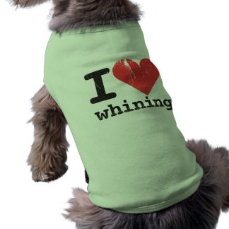 I love whining Doggie Ribbed Tank Top