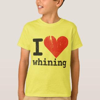 I love whining Kids T-Shirt