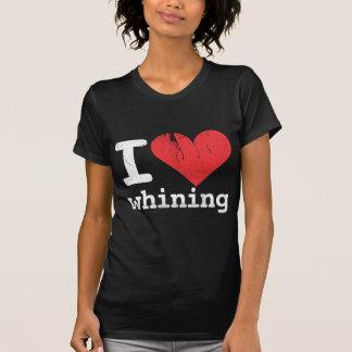 I love whining Women's Dark T-shirt