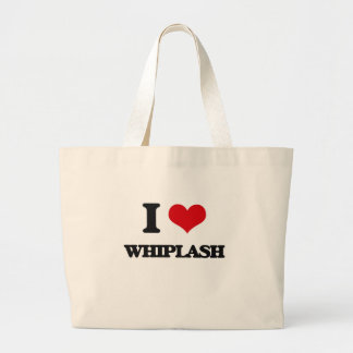 I love Whiplash Jumbo Tote Bag