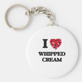 I love Whipped Cream Keychain
