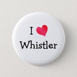I Love Whistler Pinback Button