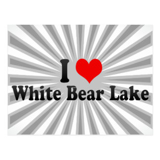 I Love White Bear Lake, United States Postcard