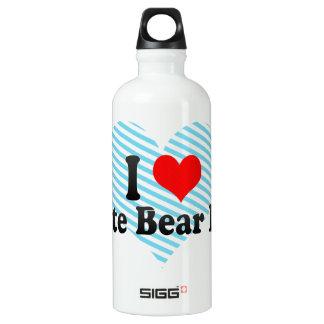 I Love White Bear Lake, United States Water Bottle