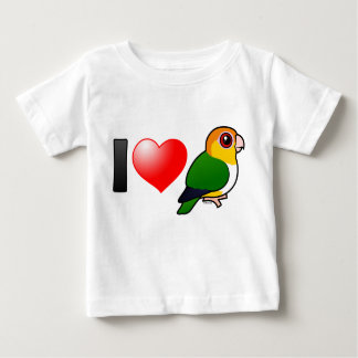 I Love White-bellied Parrots Baby T-Shirt