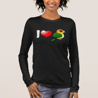 I Love White-bellied Parrots Long Sleeve T-Shirt