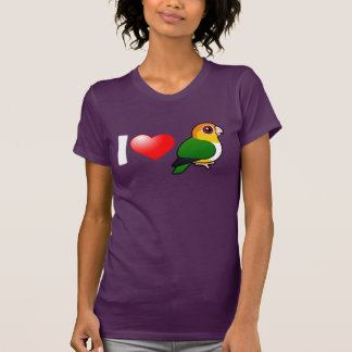 I Love White-bellied Parrots Shirts