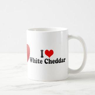 I Love White Cheddar Coffee Mugs