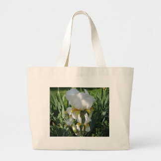 I Love White Irises Bag
