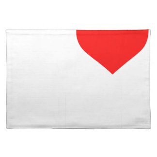 I love White Japan Placemat