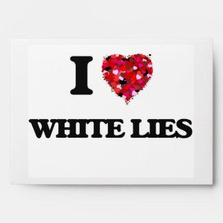 I love White Lies Envelope