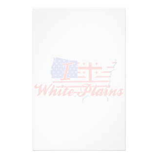 I Love White Plains, Georgia Personalized Stationery