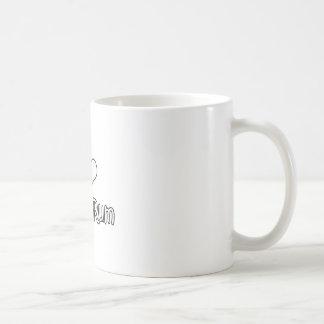 I Love White Rum Coffee Mug
