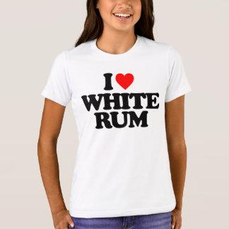 I LOVE WHITE RUM T-Shirt