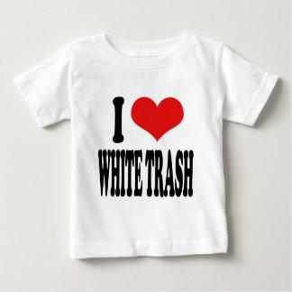 I Love White Trash Baby T-Shirt