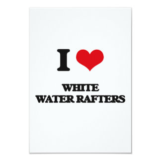 I love White Water Rafters Personalized Invites