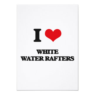 I love White Water Rafters Invite
