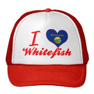 I Love Whitefish, Montana Trucker Hat