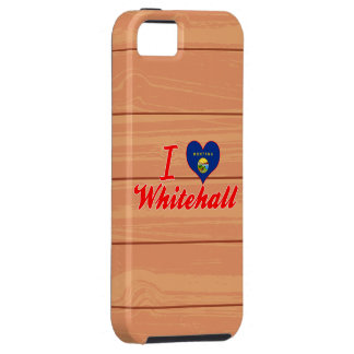 I Love Whitehall, Montana iPhone 5/5S Cases