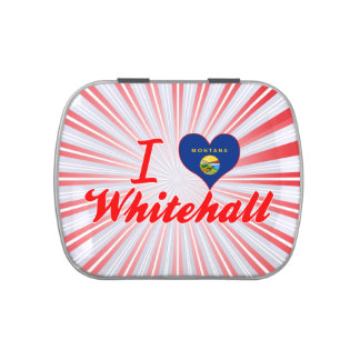 I Love Whitehall, Montana Jelly Belly Tins
