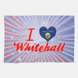 I Love Whitehall, Montana Kitchen Towels